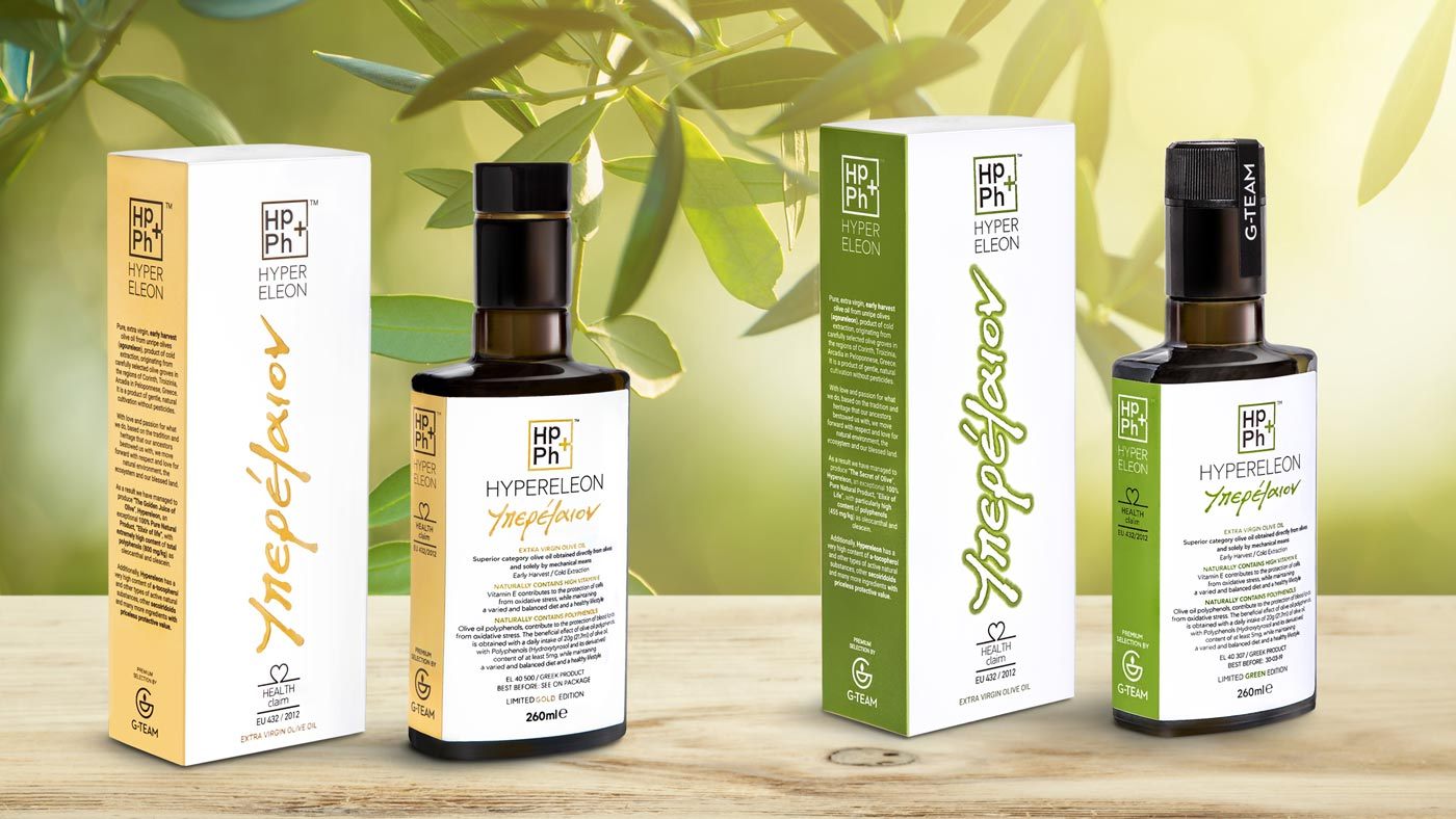 hypereleon gold vs hypereleon green high-phenolic olive oil